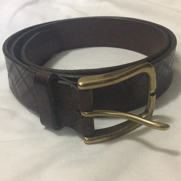 Brooks Brothers Other - Brooks Brothers Brown Leather Belt
